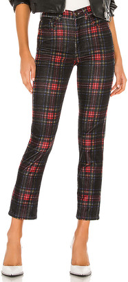 Pam & Gela Tartan Plaid Slim Crop Pant
