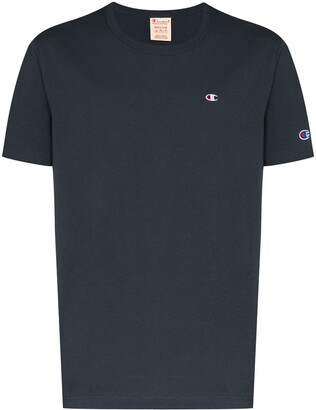 Champion logo-patch crew-neck T-shirt