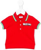 Moschino Kids - classic polo shirt - kids - Cotton/Spandex/Elastane - 12-18 mth