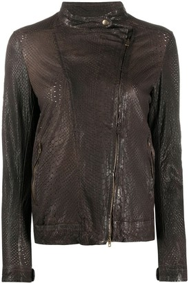 Salvatore Santoro Long Sleeve Zipped Jacket