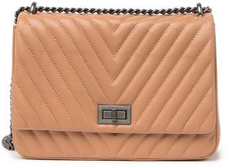 Belle & Bloom We The Free Leather Quilted Crossbody Bag