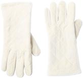 Cejon Ivory Quilted Velvet Glove
