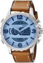 Fossil Men's Nate JR1492 Brown Watch