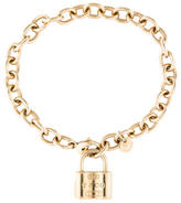Tiffany & Co. 1837 Lock Charm Bracelet