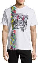 Robert Graham Pima Cotton Devils Graphic Short-Sleeve T-Shirt, White