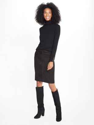 J.Mclaughlin Sonya Faux Suede Skirt