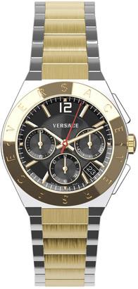 Versace Men's Landmark Round Watch