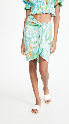 Faithfull The Brand Floral Mini Pareo