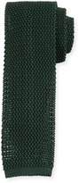Peter Millar Silk Knit Contrast Tie, Sherwood