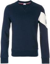 Moncler Gamme Bleu chevron detail sweatshirt
