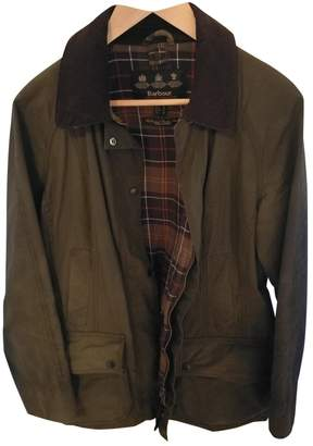 Barbour Green Cotton Jacket for Women