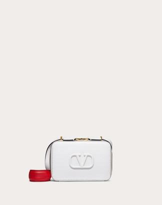 Valentino Garavani Vsling Smooth Calfskin Crossbody Bag Women White Calfskin 100% OneSize