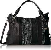 Jessica Simpson Ryanne Patchwork Top Zip Tote