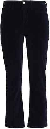 Frame Le Crop Mini Boot Cotton-blend Velvet Kick-flare Pants
