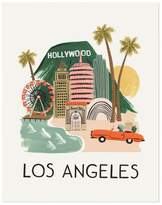 Rifle Paper Co. Rifle Paper Los Angeles Poster - 28x35 cm