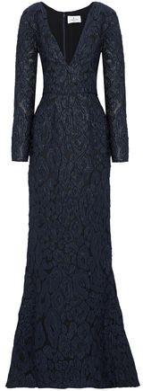 J. Mendel J.Mendel J.mendel Embellished Embroidered Silk-organza Gown