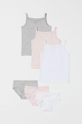 H&M 6-piece Cotton Set