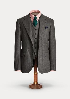 Ralph Lauren Striped Flannel Suit Jacket