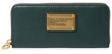 Marc by Marc Jacobs Classic Q Slim Leather Zip Around Wallet