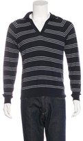 Billy Reid Cashmere-Blend Polo Sweater