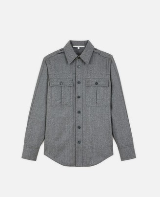 Stella McCartney wool flannel shirt