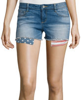 Arizona Print Pocket Denim Shorts
