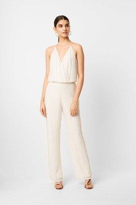 French Connection Clara Embellished Strappy Jumpsuit