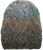 Missoni Ombré Irregular Cable Knit Wool Beanie