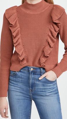 525 Cotton Mock Neck Pullover