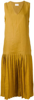 Simon Miller Brea midi dress - women - Linen/Flax - 1