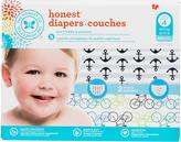 The Honest Company Boy Diapers Club pack, Anchors & Stripes + Bicycles
