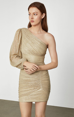 BCBGMAXAZRIA Metallic Mini Dress