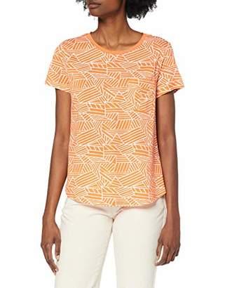Yargıcı Womens 9YKTS9009X Round Collar Short Sleeve T - Shirt - Multicolour - X-Large