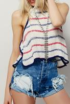 Free People Seredipity Striped Tank