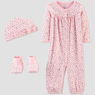 Just One You Made By Carter's Baby Girls' Convertible Nightgown with Cap and Booties - Just One You® made by carter's