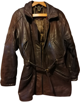 Oakwood Brown Leather Coats