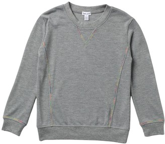 Splendid Rainbow Stitch Long Sleeve Top (Big Girls)