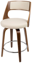 Lumisource Cecina Mid-Century Modern Counter Stool