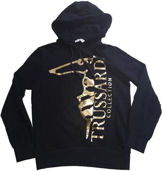 Trussardi Navy Cotton Knitwear & Sweatshirts
