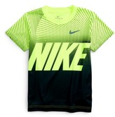Nike Toddler Boy's Dry Staggered Line Block T-Shirt