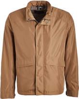 Cole Haan Men's Non-Denim Casual Jackets Sand - Sand Hooded Zip-Up Raincoat - Men