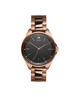 MVMT Women's Analogue Quartz Watch with Gold Tone Stainless Steel Strap 28000004-D