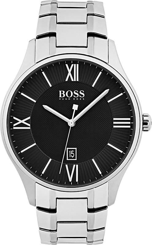 BOSS 1513488 Governor steel watch