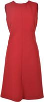 Giorgio Armani Pleated Back Dress