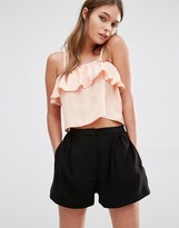 Fashion Union Ruffle Cami Top