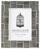 Shiraleah Loft Houndstooth Print Frame