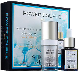 Sunday Riley Power Couple Duo Total Transformation Kit