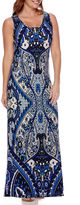 MSK Printed Tank Maxi Dress - Petite