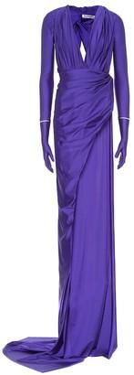 Balenciaga Stretch-jersey gown