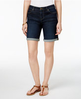 Style&Co. Style & Co Petite Cuffed Denim Shorts, Only at Macy's
